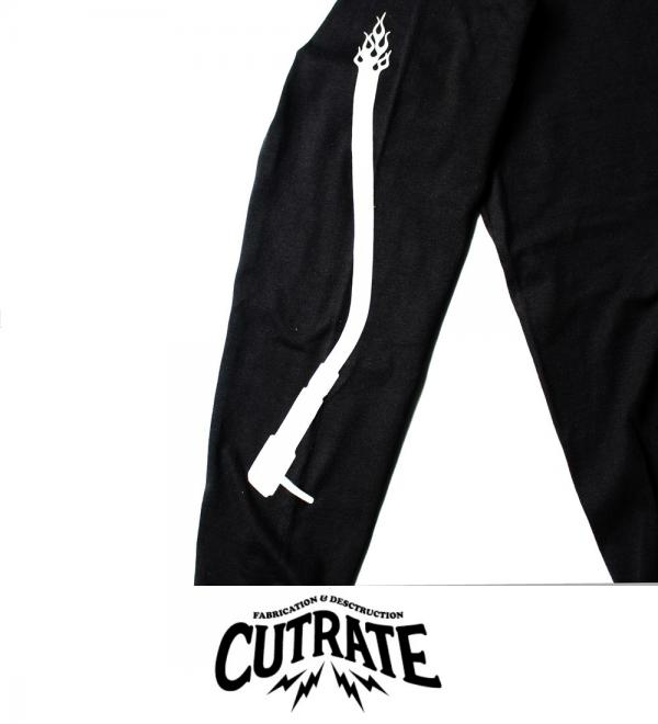 CUTRATE  CAN YOU PARTY L/S T-SHIRT BLACK(カットレート・キャンユーパーティーロングスリーブTシャツ・ブラック)