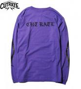 CUTRATE  CAN YOU PARTY L/S T-SHIRT PURPLE(カットレート・キャンユーパーティーロングスリーブTシャツ・パープル)