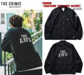 CRIMIE COACHES THE LIFE JACKET BLACK(クラミー・THE LIFEコーチジャケット・ブラック)
