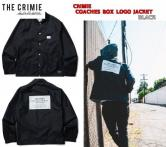 CRIMIE COACHES BOX LOGO JACKET BLACK(クラミー・BOX LOGOコーチジャケット・ブラック)