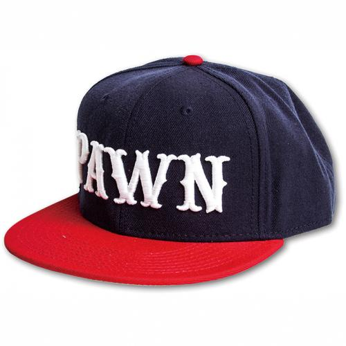 【SALE 40%OFF】PAWN LOGO CAP7401(パウン・ロゴキャップ・ブルー・NAVY/RED・NAVY・BLACK)