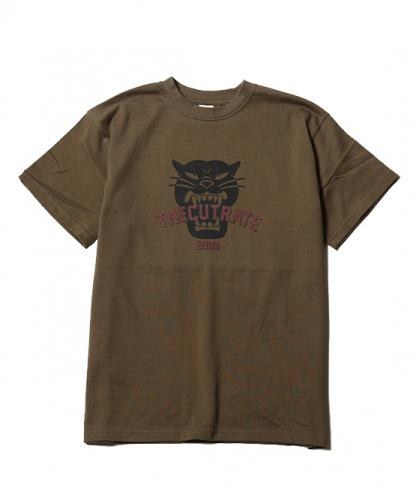 【SALE 30%OFF】CUTRATE LOCAL MAIN LOGO T-SHIRT OLIVE(カットレート・メインロゴTシャツ・オリーブ)