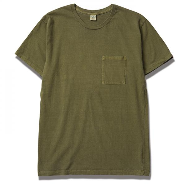 【SALE 30%OFF】FUCT 2PACK CREW NECK POCKET TEE 6617 Vintage(クルーネック半袖ポケットTシャツ2枚セット・ヴィンテージ)