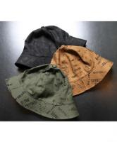 CUTRATE ALLOVER PATTERN METRO HAT  BLACK/OLIVE/CAMEL(カットレイト・オールオーバーパターンメトロハット・ブラック/オリーブ/キャメル)