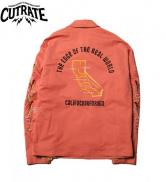 CUTRATE SOUVENIR JACKET PINK(カットレート・スーベニアジャケット・ピンク)