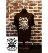 ThugRise ThugRise×GRIMB Krazy Painting Front Tシャツ BROWN(サグライズ・サグライズ×グリムクレージーペイントTシャツ・ブラウン)