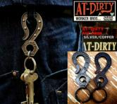 AT-DIRTY KEY HOOK SILVER/COPPER(アットダーティー・キーフック・シルバー /カッパー)