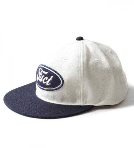 070e3adf3 SALE 20%OFF】FUCT SSDD F LOGO WOOL CAP 41405 WHITE NAVY(ファクト・F ...