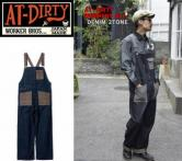 AT-DIRTY OWORKERS ALL DENIM 2TONE(アットダーティク・ワーカーズオール・デニムツートン)