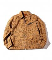 CUTRATE ALLOVER PATTERN 91-B TYPE JACKET CAMEL(カットレイト・オールオーバーパターン 91-Bタイプジャケット・キャメル)