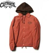 CUTRATE HOODED COACH JACKET PINK(カットレート・フーデッドコーチジャケット・ピンク)
