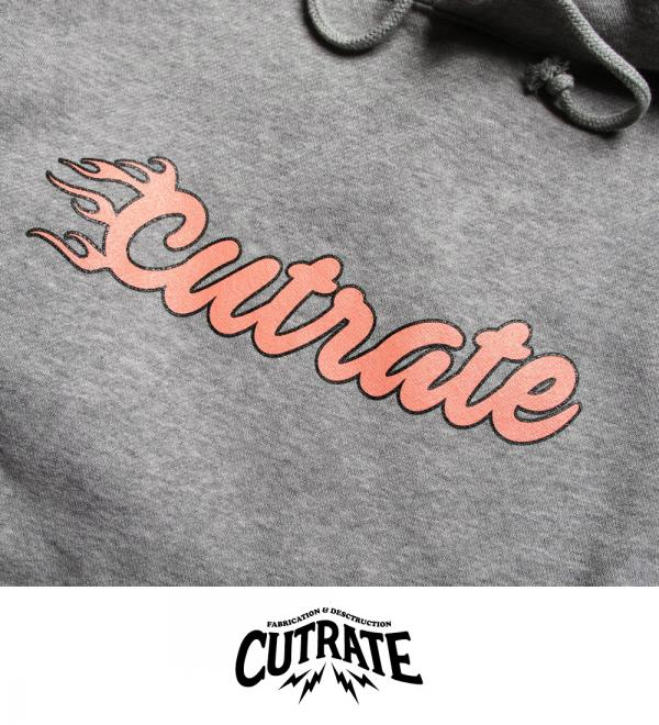 CUTRATE PULLOVER PARKA GRAY(カットレート・プルオーバーパーカー・グレー)