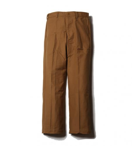 CUTRATE OLD GERMANY CLOTH CHINO PANTS CAMEL(カットレート・オールドジャーマニークロスチノパンツ・キャメル)