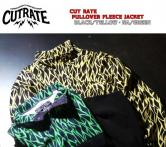 CUTRATE PULLOVER FLEECE JACKET ・YELLOW/GREEN(カットレイト・プルオーバーフリースジャケット・イエロー/グリーン)
