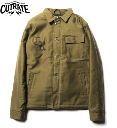 CUTRATE A-2 DECK JACKET OLIVE