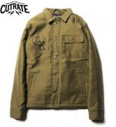 CUTRATE A-2 DECK JACKET OLIVE(カットレイト・A-2デッキジャケット・オリーブ)