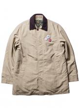 【SALE 50%OFF】FUCT SSDD ALL WEATHER OVERCOAT 7526 BEIGE(ファクト・オールオーバーコート・ベージュ)