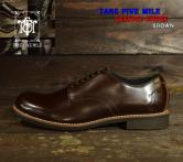 "TAKE FIVE MILE ""SERVICE SHOES "" BROWN(テイクファイブマイル・サービスシューズ・ブラウン)"