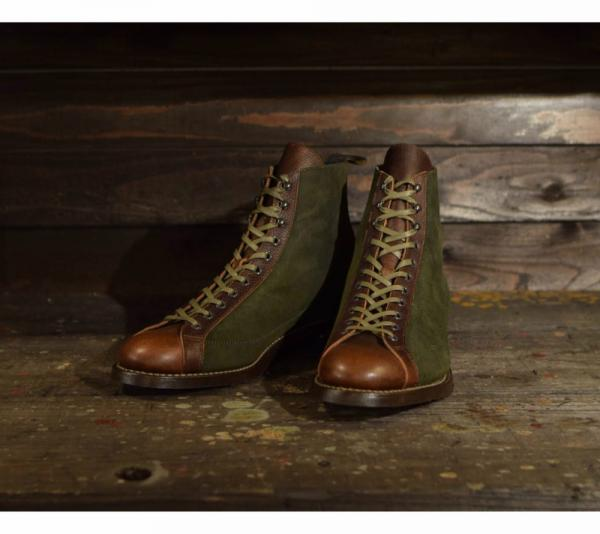 "TAKE FIVE MILE ""MONKEY BOOTS ""OS.GREEN(テイクファイブマイル・モンキーブーツ・グリーン)"