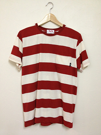 TON-UP S/S T-SHIRT RD/WH