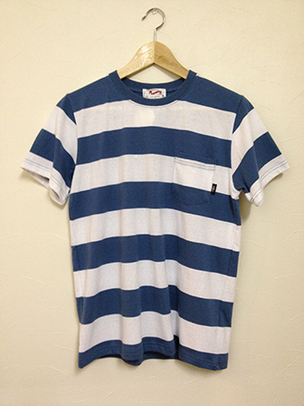 TON-UP S/S T-SHIRT BL/WH