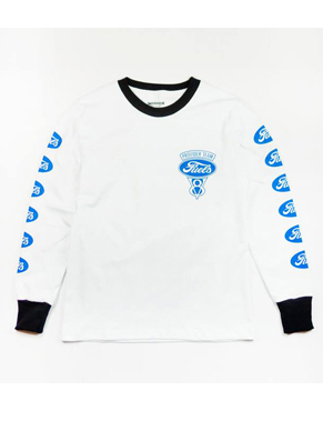 "Provider KEEP ROLLING ""Fuels Logo L/S Tee"" WHITE"