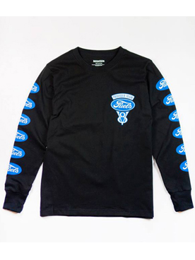 "Provider KEEP ROLLING ""Fuels Logo L/S Tee"" BLACK"