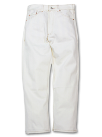 【SALE 50%OFF】SEVENTY FOUR WASHED TYPE 2 DENIM PANT WHITE(セブンティーフォー・ウォッシュデニム・ホワイト)
