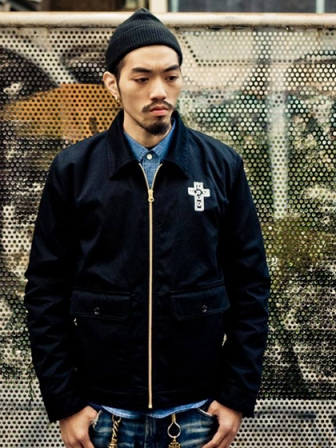 "Provider KEEP ROLLING ""Station Jacket"" BLACK"