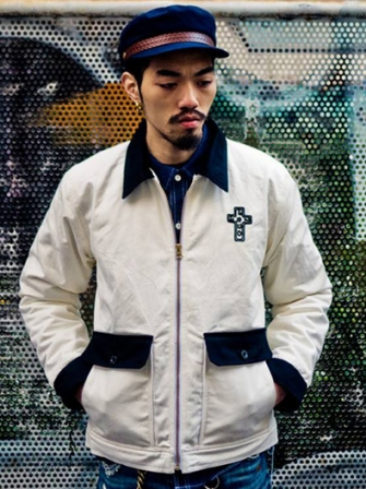 "【SALE 50%OFF】Provider KEEP ROLLING ""Station Jacket"" WHITE"