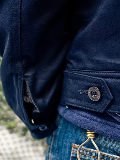"Provider KEEP ROLLING ""Station Jacket"" NAVY"