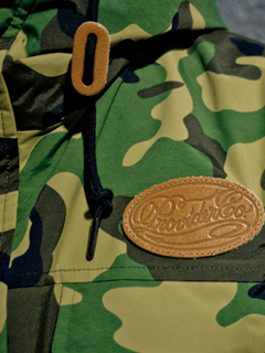 "【SALE 50%OFF】Provider KEEP ROLLING ""Mountain Parka"" CAMO"